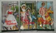 Disney Mary Poppins Barbie Doll Lot 4 Bert Jane And Michael 2007 New In Box Pink
