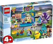 Lego Juniors Toy Story 4 Buzz And Woodyand039s Carnival Mania Set 10770