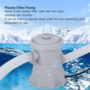 Electric Swim Pool Cartridge Filter Pump For Above Ground Pools Clean Kit Us