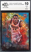 2013-14 Court Kings /225 Giannis Antetokounmpo Rookie Card Graded Bccg 10 543