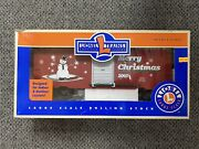 Lionel 8-87023 2002 G Large Scale Christmas Boxcar
