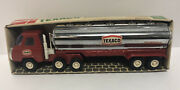 Buddy L 1970andrsquos Texaco Tank Truck Tanker 10 Pressed Steel Made Japan New In Box