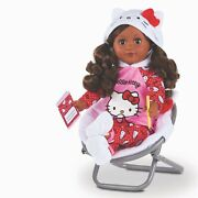 New My Life As 18-inch Poseable Hello Kitty Doll, African American Girls Sleeper