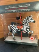 The Smithsonian Collection Carousel Animals Christmas Ornament. 1988 Handcrafted