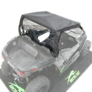 Arctic Cat Soft Roof And Roll-up Back Panel - Wildcat Trail And Sport - 1436-992