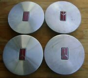Complete Set Of 4 Used Olds Bravada 96-97 Center Caps-part 25606966