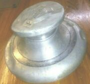 - 1929 1930 1931 1932 Plymouth Aluminum Hubcap And Sleeve Piece - Wall Decor