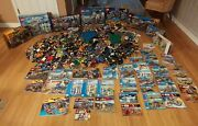 52 Pounds Lego City, Batman, Star Wars Super Heroes + Over 100 Minifig Unsorted