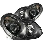 121079 Anzo Headlight Lamp Driver And Passenger Side New For Mercedes C Class