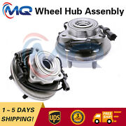 2 Front Wheel Hub Bearing For 06-10 Ford Explorer And Mercury Mountaineer 515078