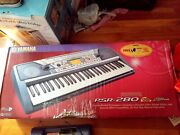 Yamaha Psr280ms 61-note Portable Electronic Keyboard With Power Adapter + Stand