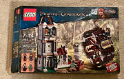 Lego 4183 Pirates Of Caribbean The Mill Used 100 Box Book Minifigures Poster