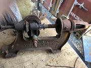Antique Champion Blower And Forge 202 Hand Crank Post Drill Press Tool
