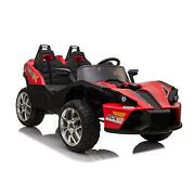 2 Seats Kids Car 12v Ride On Racer Cars Electric Cars Music Remote Control Led