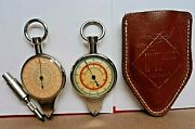 Rare1930s Hoffritz Germany Opisometer Map Measure Nautical Compass Instrument