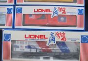 1776-1976 Lionel Spirit Of And03976 15 Piece Collection U36b Diesel +13 Box Cars