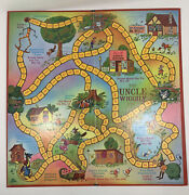 Vintage Board Game Uncle Wiggly 1967 Parker Brothers Game Board Only