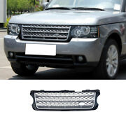 Front Bumper Lower Grill Grille Mesh For Range Rover L405 2005-2012 Silver Black