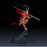 Huge Exquisite Copper Brass The West Myth Sun Wukong Monkey King Sculpture