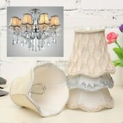 Vintage Small Lace Lamp Shades Textured Fabric Ceiling Chandelier Light Us S5