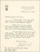 Tallulah Bankhead - Typed Letter Signed 02/21/1939