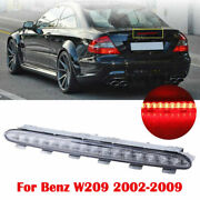 1pc Third Led Tail High Mount Brake Light Clear For Benz Clk W209 2002-2009 As