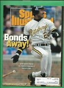 3 1992 Sports Illustrated Barry Bonds 1st Issue Lot 20 1990 Beckett Pirates