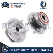For Jeep Grand Cherokee 5 Lug 513159 Front Wheel Bearing And Hub Assembly Set Of 2
