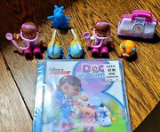 Disney Jr Doc Mcstuffins 8 Piece Lot The Doc Is In Tv Soundtrack New And 7 Toys