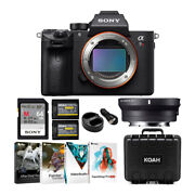 Sony Alpha A7r Iii Full-frame Mirrorless Body And Sigma Mc11 Adapter For Canon