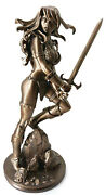 Red Sonja Amanda Conner Statue Bronze Limited Edition Retails 250