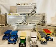Matchbox Power Of The Press Complete Set Of 6 143 1995 Made