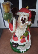 Disney Mickey Mouse Store Display Statue Christmas Santa Local Pickup Only