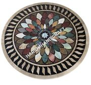 36 Round Marble Dining Table Top Precios Mosaic Inlay Interior Furniture E624a1
