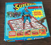 Superman Match Ii Board Game 1979 Ideal Toy Dc Comics Complete With Extras