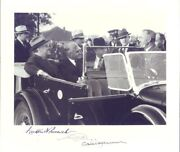 Franklin D. Roosevelt - Photograph Signed With Co-signers