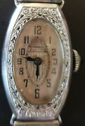 Vintage Bulova Womens Watch 14k Gold Filled As Is Not Guaranteed