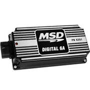 Msd 6a Ignition Black Capacitive Discharge Hi Rpm Street Strip Chevy Ford Mopar