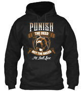 Teespring Punish The Deed Not The Breed Pit Bull Classic Pullover Hoodie
