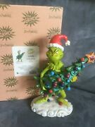 Jim Shore 6002067 Stealing Christmas Tree 1 Piece Figure - New In Box