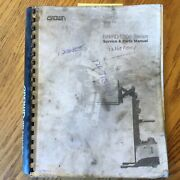 Crown Rr/rd 5000 Service Repair Manual And Parts Book Rider Reach Fork Lift Truck