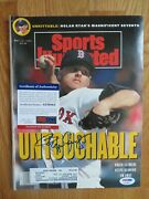 Roger Clemens Signed Sports Illustrated 5-13-1991 Boston Red Sox Psa Ae56864