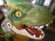 Mint Imaginext Fisher-price Jurassic World Mega Mouth T.rex Kid Toy Gift Park