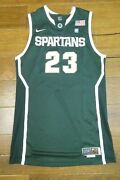 Draymond Green Game Used Issued Michigan State Basketball Jersey