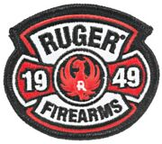 Ruger Firearms 1949 Logo Patch 10/22 Sr9 Mkii 22/45 Lcp Ruger American Ruger Pc9