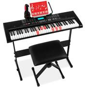 Best Choice Products 61-key Beginners Complete Electronic Keyboard Piano Set