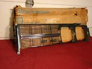 68 1968 Buick Lesabre Chrome Lh Grille New Car Take Out...... Still In Nos Box