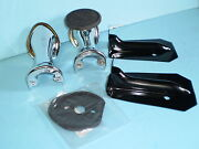 1933 1934 Ford Tailight Mount Kit Rumble Seat Step Chrome Plate Coupe Roadster
