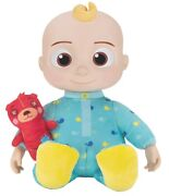 Cocomelon Jj Doll Bedtime Soft 10 Plush Sing Toy Youtube New Ready To Ship