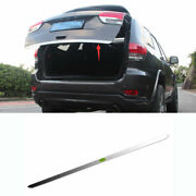 For 2011-2020 Jeep Grand Cherokee Chrome Rear Tailgate Trunk Lid Cover Trim 1pcs